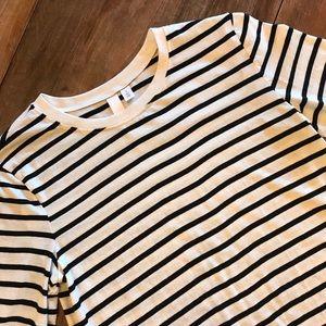 BP | Striped long sleeve tee | Size S